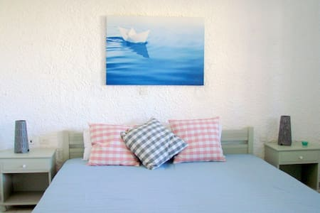 2bed studio 150 m from the beach. - Apartment