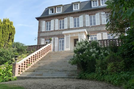 Castel de la Terrasse - Chambre Bow Window - Étretat - Pension