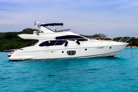 55ft Azimut Yacht - Rent your own Yacht for a day! - Cartagena