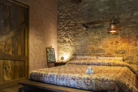 SassoErminia Eco B&B Camera Erminia - Novafeltria - Bed & Breakfast