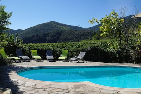 Villa, private pool, amazing views!