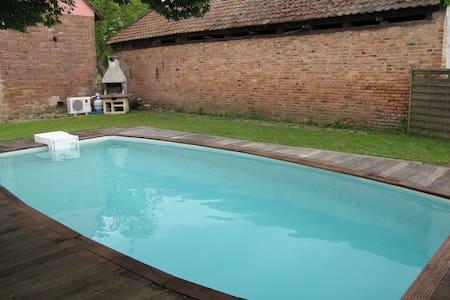 gite 5 pers piscine près strasbourg - Ingenheim - Apartmen