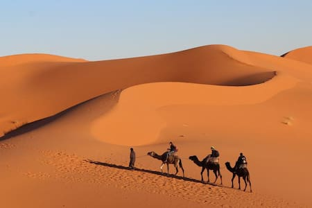 hotel kasbah des dunes in merzouga - Hassilabied - Guesthouse