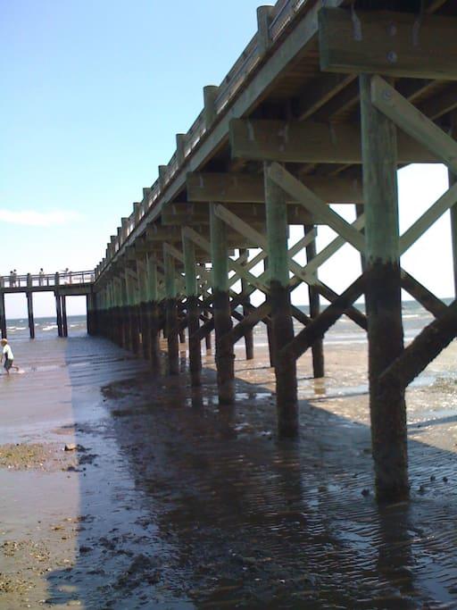 Walnut Beach fishing pier