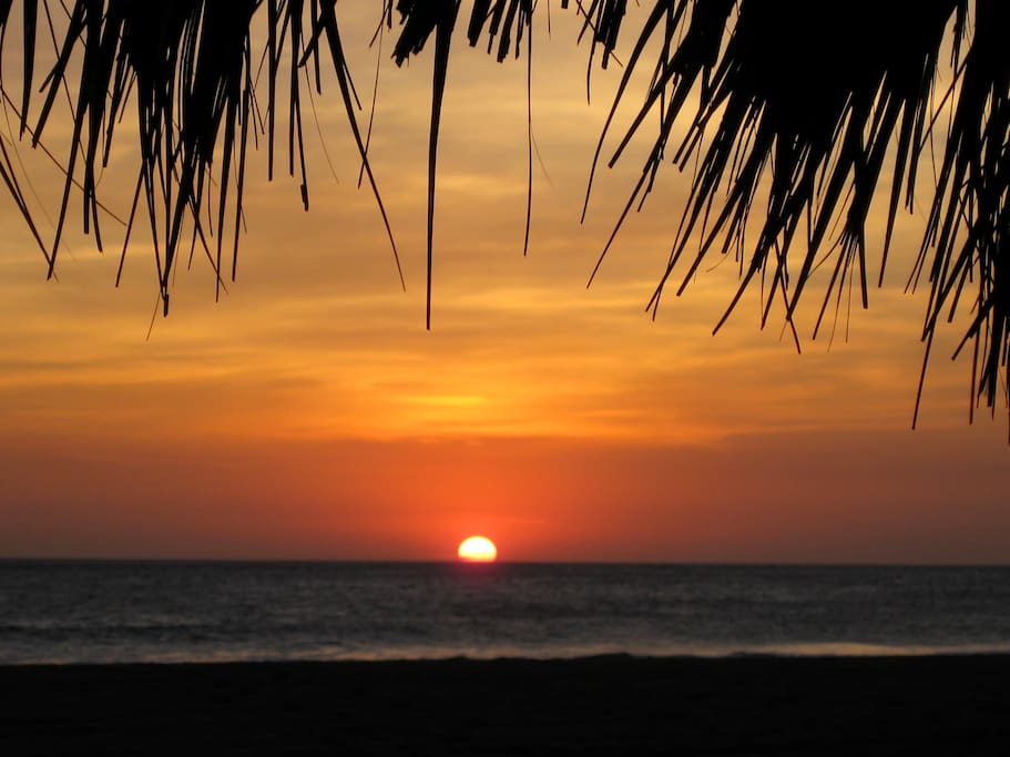 Poneloya is known for its world class sunsets