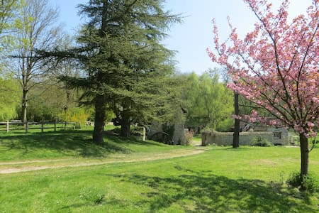 2 room suite in a 16th century Watermill - GILLES - House