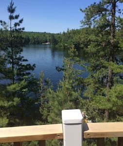 Lakehouse with sunset views on Pine River Pond - House
