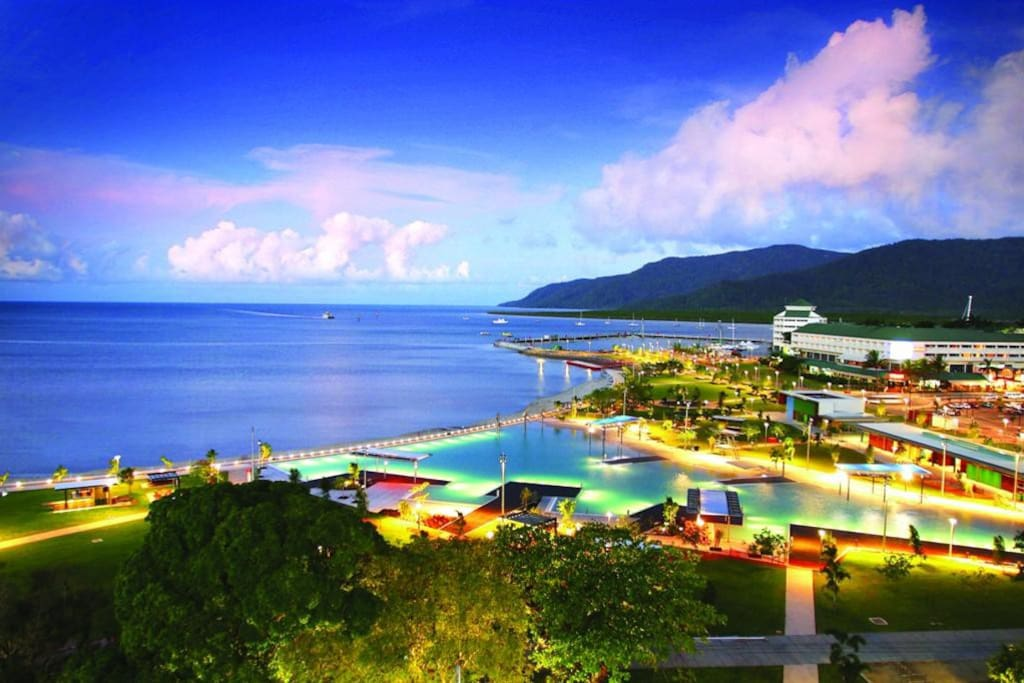 Cairns Esplanade at your doorstep!