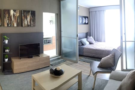 Nr. trains/airport, transfer incl. Wifi, Netflix - Bangkok - Apartmen
