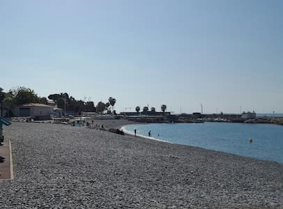 Comfortable 3 rooms apartment, 200 m from the sea - Cagnes-sur-Mer - Apartment