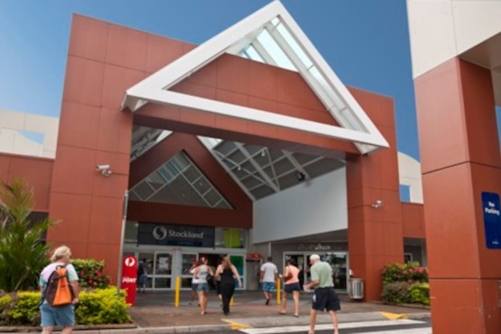 Stockland Shopping Centre Cairns