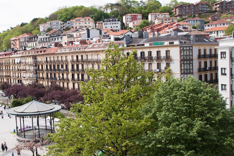 Views to Plaza Easo