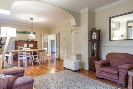 Designated heritage home 3bd + loft - Rumah