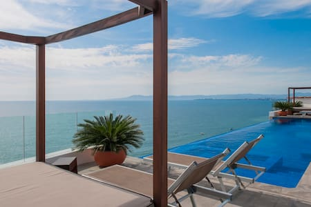 CONDO WITH OCEAN VIEW ROMANTIC ZONE - Puerto Vallarta - Appartamento