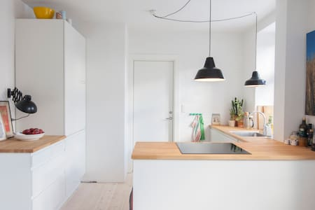 Cool appartment in trendy Nørrebro