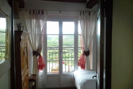 Chambre rose - Coursegoules - Bed & Breakfast