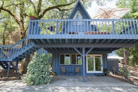Private cottage with amazing views - Calistoga - House