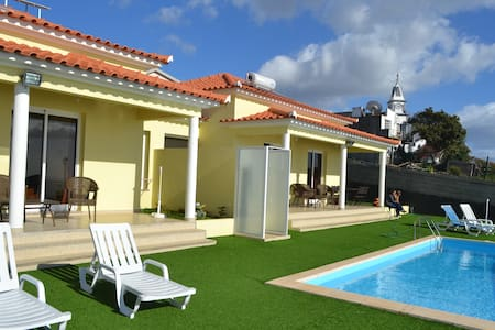Casa Isabel - Pool and Sea views. - Arco da Calheta - Casa de camp