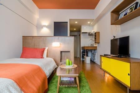 Stylish Apartment in Shinjuku - Shinjuku-ku - Apartment