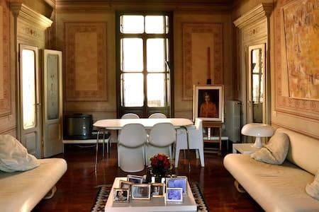 Elegantissimo appartamento del 1800 - Badia Polesine - Lejlighed