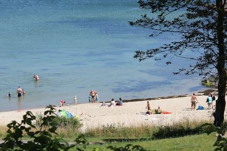 Bornholm, Sandkås havudsigt strand - Sommerhus/hytte