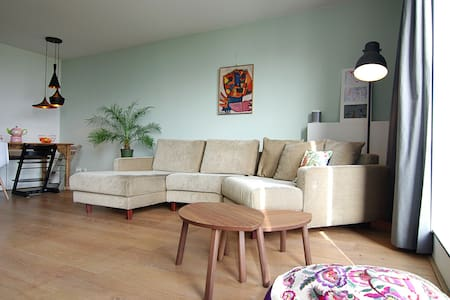 COZY apt. located in sunny ijburg! - Amsterdam - Apartment