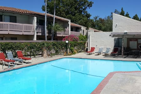 Beautiful and private condo near UCSB and beach - Goleta - Wohnung