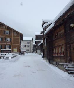 Historische Wohnung - Glarus Süd