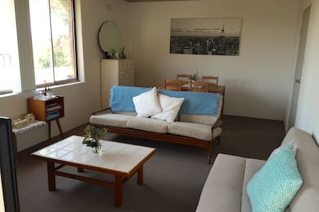 Welcome to our beautiful apartment 5 min walk from Coogee Beach, bus stop right outside to easily get to the city. Enjoy sun-baking on our balcony or reading under the window in your spacious private bedroom. We provide the best local tips in Sydney!