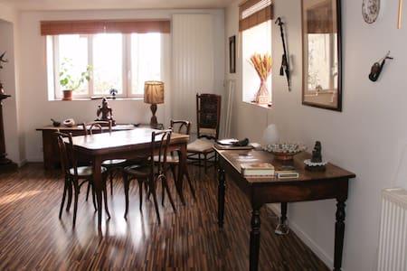 Chambre, maison espace et lumière - la chavanne
