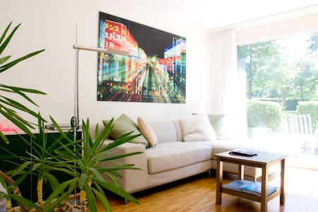 Bright & cozy apartment, downtown - Leilighet