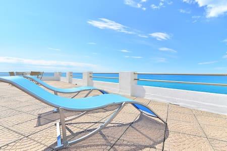 Apartment with terrace on the sea - Santo Stefano Al Mare - Apartment