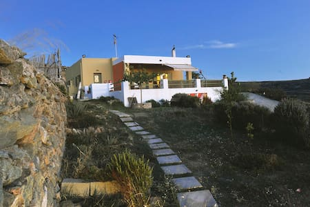 House with panoramic view in Syros - Agros - Haus