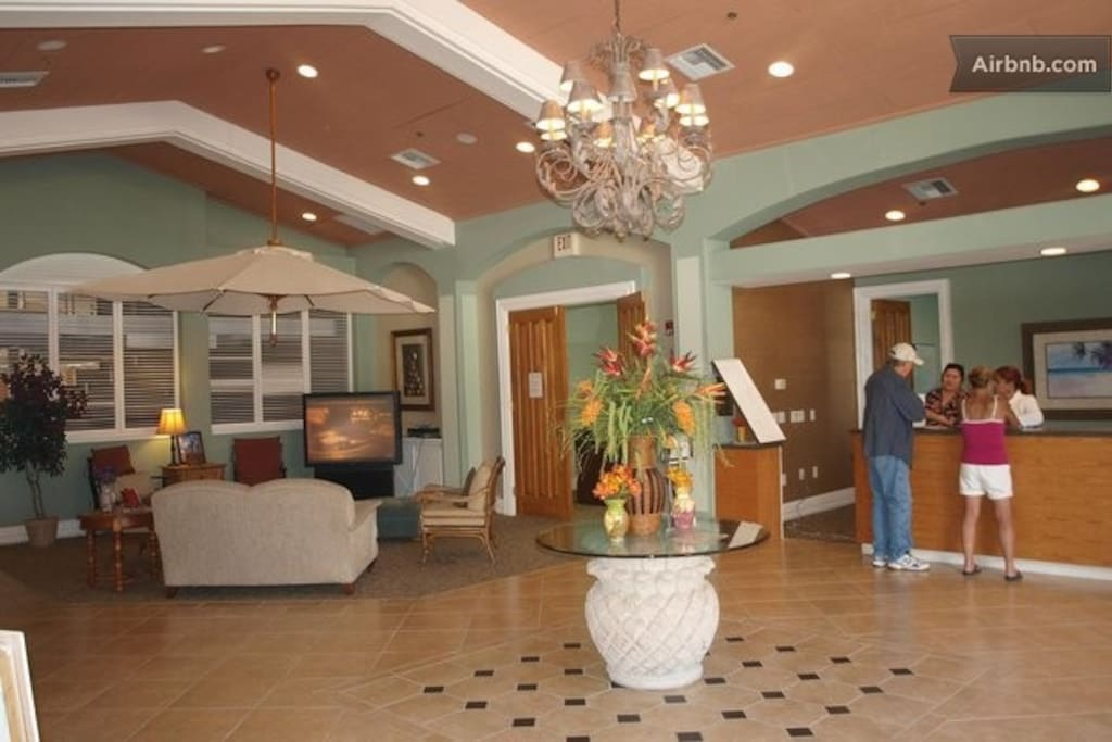 Lobby of Club House