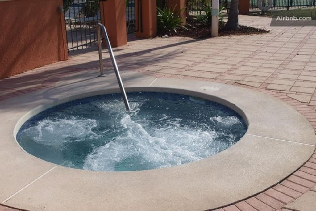 Hot Tub next to Swiming pool at the Club House