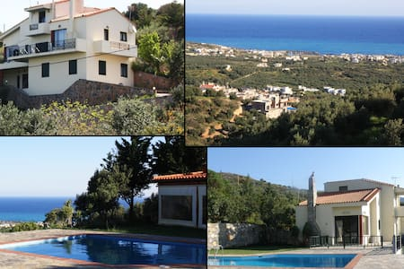 CRETE-SEASIDE MILATOS-VILLA -UP 15 - Lasithi - Vila