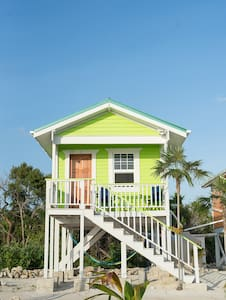 Eco Friendly Beachfront Cabana Lime - バンガロー