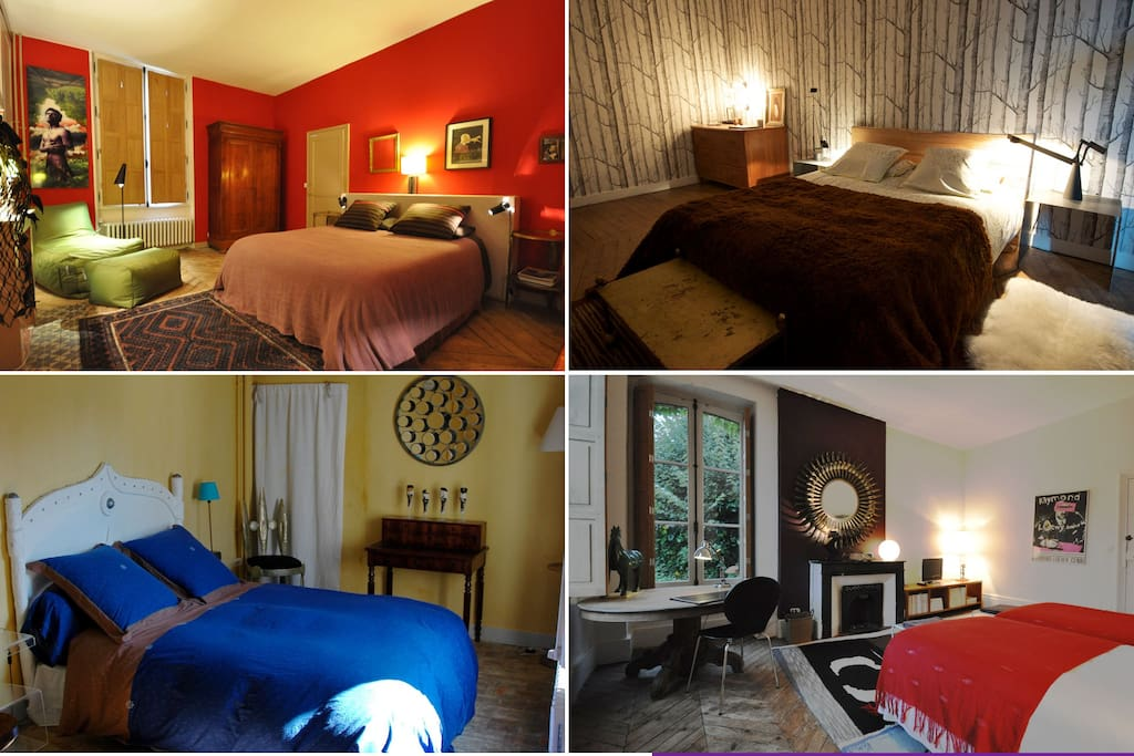 Flamingo rooms 4 chambres d 39 h tes bed breakfasts for - Chambre d hote longny au perche ...