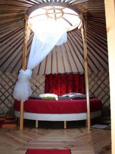 comfortables yurts near Auxerre - Yurt