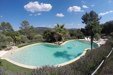 Charm and heated pool in Provence - Bras - Hus
