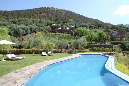 Kasbah Africa - Atlas River Retreat - Ouirgane