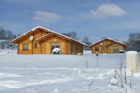 LES CHALETS A LA FERME (avec sauna) - Rumah