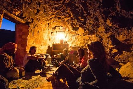 Authentic Bedouin Cave in Petra!