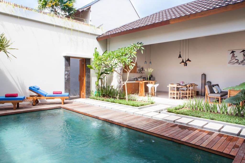 Designer Zen Villa 2BR in Central