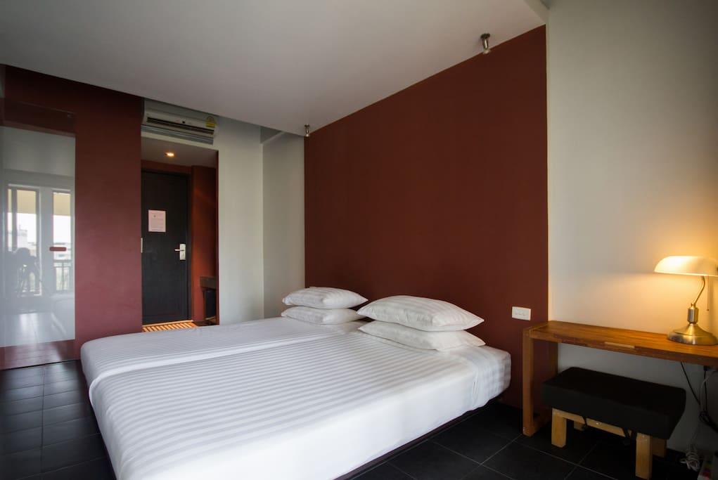 Loog Choob Homestay: Cozy room #403