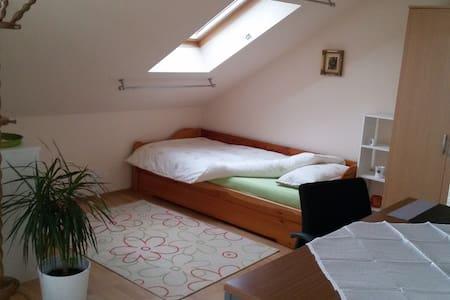 helles, ruhiges Zimmer mit Blick zu den Sternen - Alsdorf - Pis
