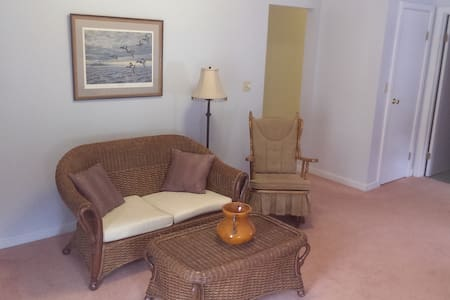 Clean, comfortable 2 bdrm Apt. Great location. - Byt