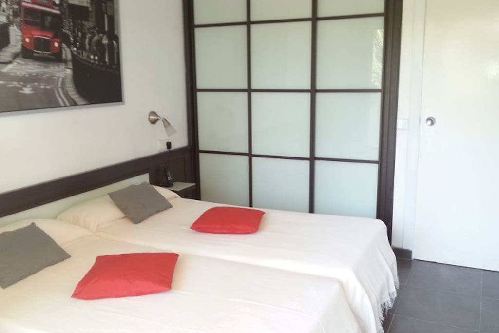 the bedroom for 2 persons