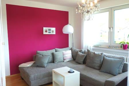 Moderne und gemütliche Ferienwohnung - Apartamento