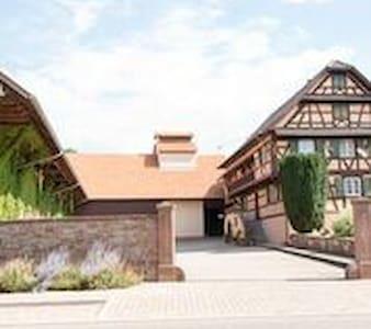Ferme typique alsacienne - Wohnung